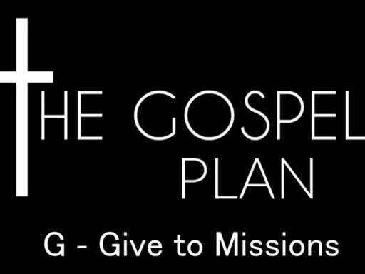 Give to Missions - April 10, 2016