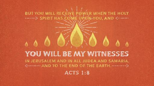 Acts 1:8 verse of the day image