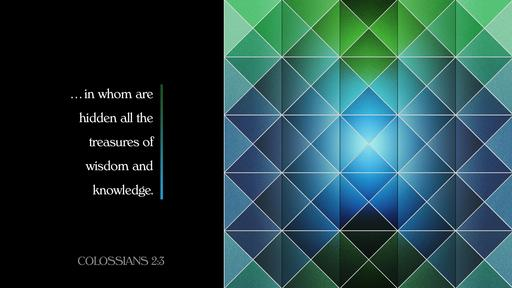Colossians 2:3 verse of the day image