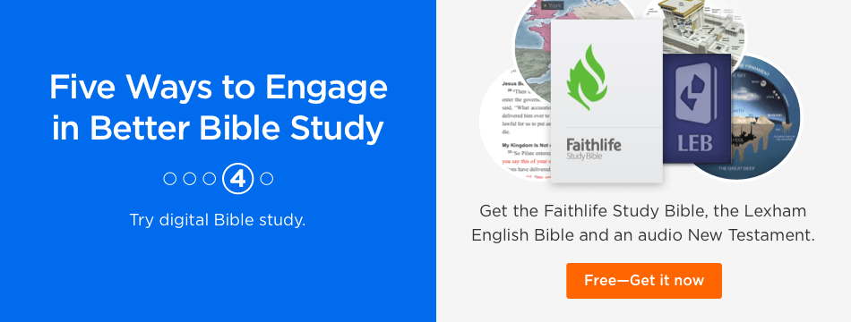 Try the Faithlife Study Bible Free