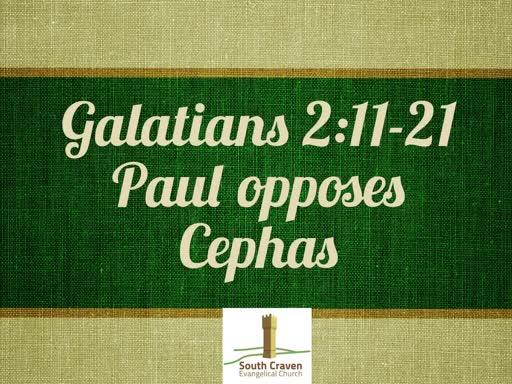 Galatians 2:11-22