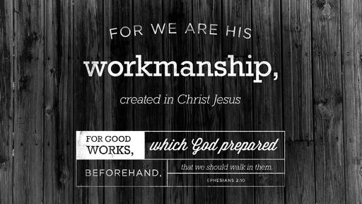 Ephesians 2:10 verse of the day image