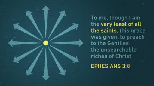Ephesians 3:8