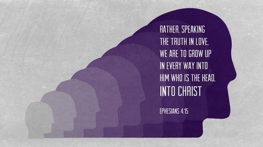 Ephesians 4:15 verse of the day image