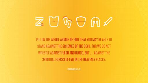 Ephesians 6:11–12 verse of the day image