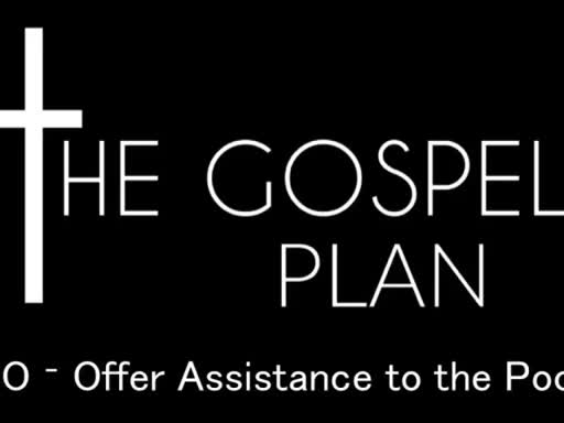 Offer Assistance to the Poor - The Need for Mercy - April 17, 2016
