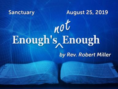 August 25, 2019 - Sanctuary