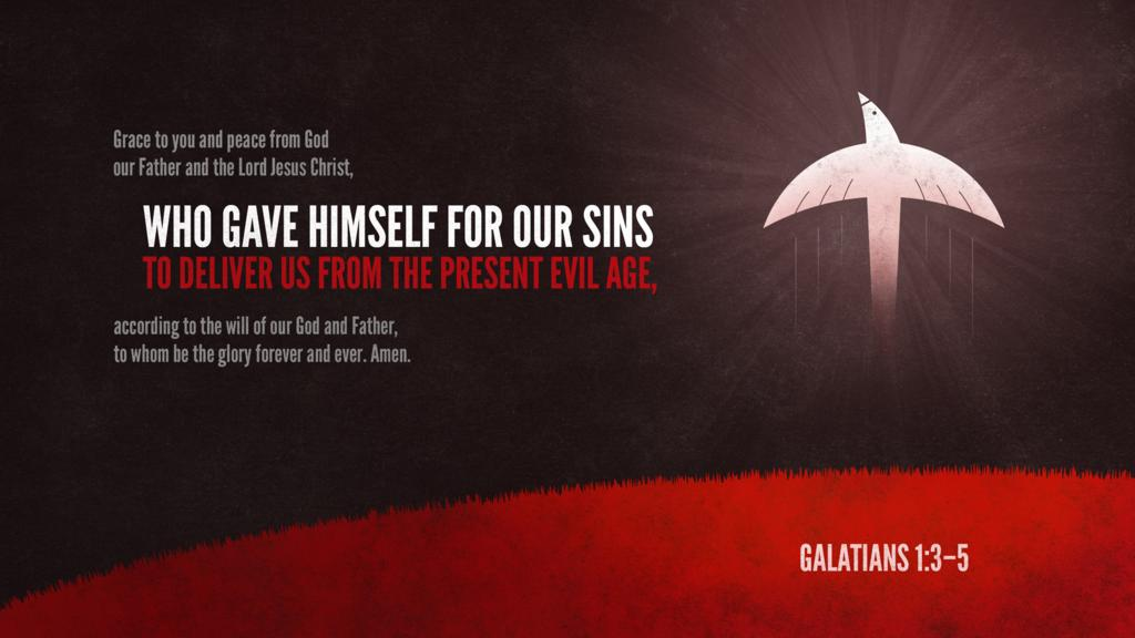 Galatians 1:3–5 large preview