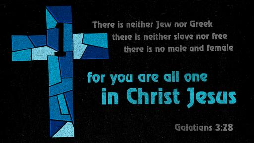 Galatians 3:28 verse of the day image