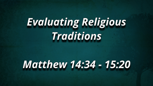 Evaluating Religious Traditions