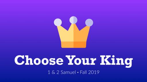 Samuel vs. the People  - 1 Samuel 8