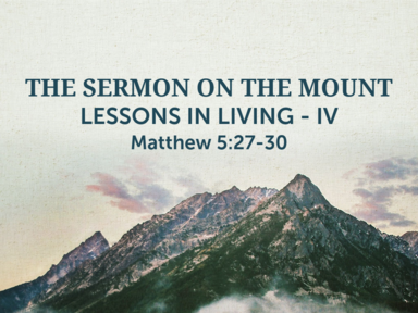 The Semon on the Mount