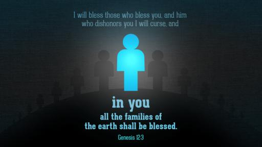 Genesis 12:3 verse of the day image