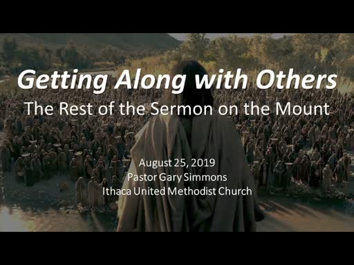 The Rest of the Sermon (on the Mount)