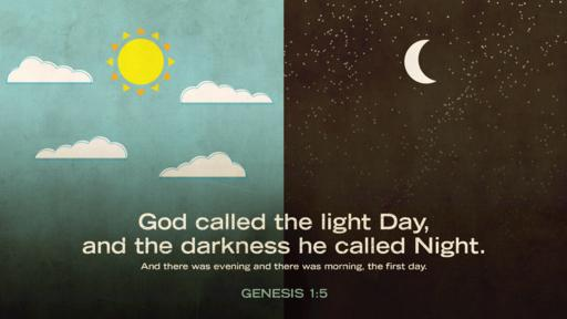 Genesis 1:5 verse of the day image