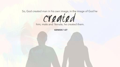Genesis 1:27 verse of the day image