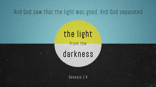 Verse of the day image for Genesis 1:4