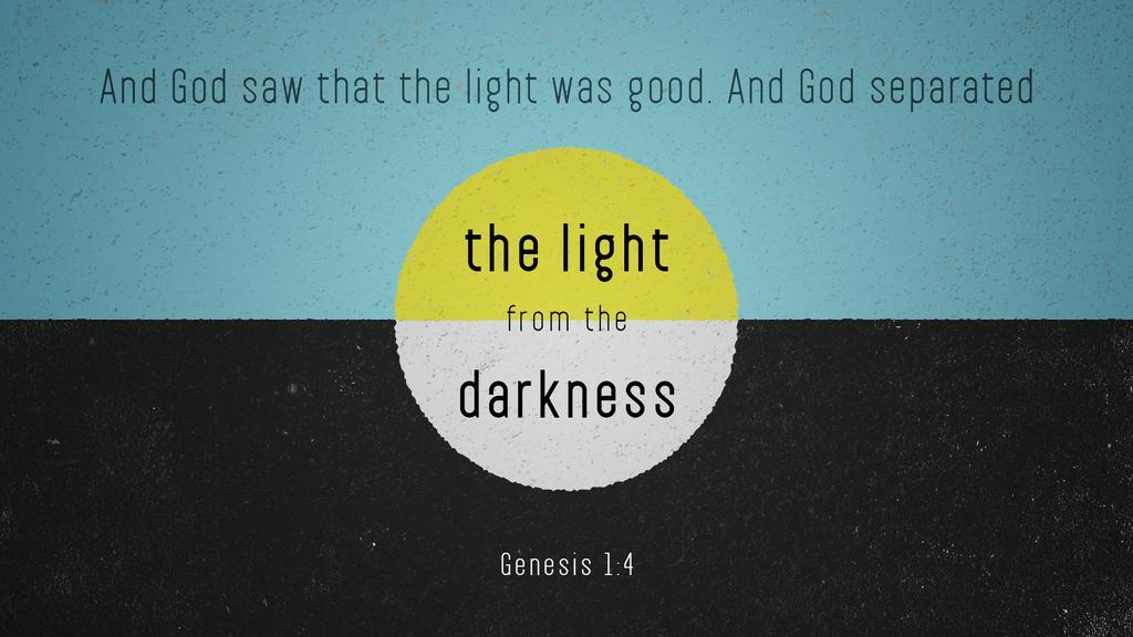 Genesis 1:4 large preview