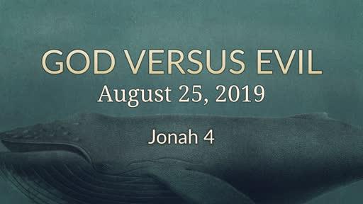 God versus Evil