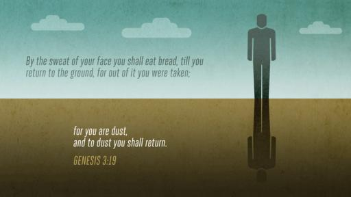Genesis 3:19 verse of the day image