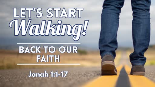 Back To Our Faith - August 25, 2019