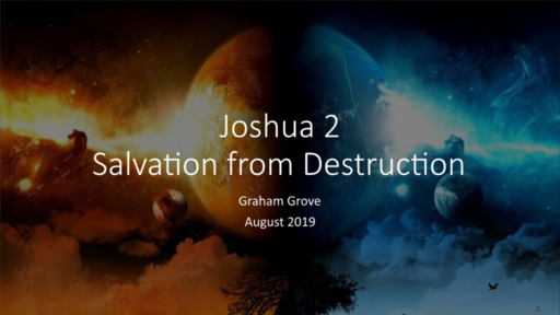Joshua 2 - Salvation from Destruction