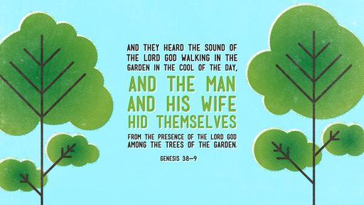 Genesis 3:8–9
