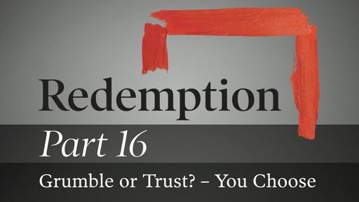 Part 16: Grumble or Trust? – You Choose