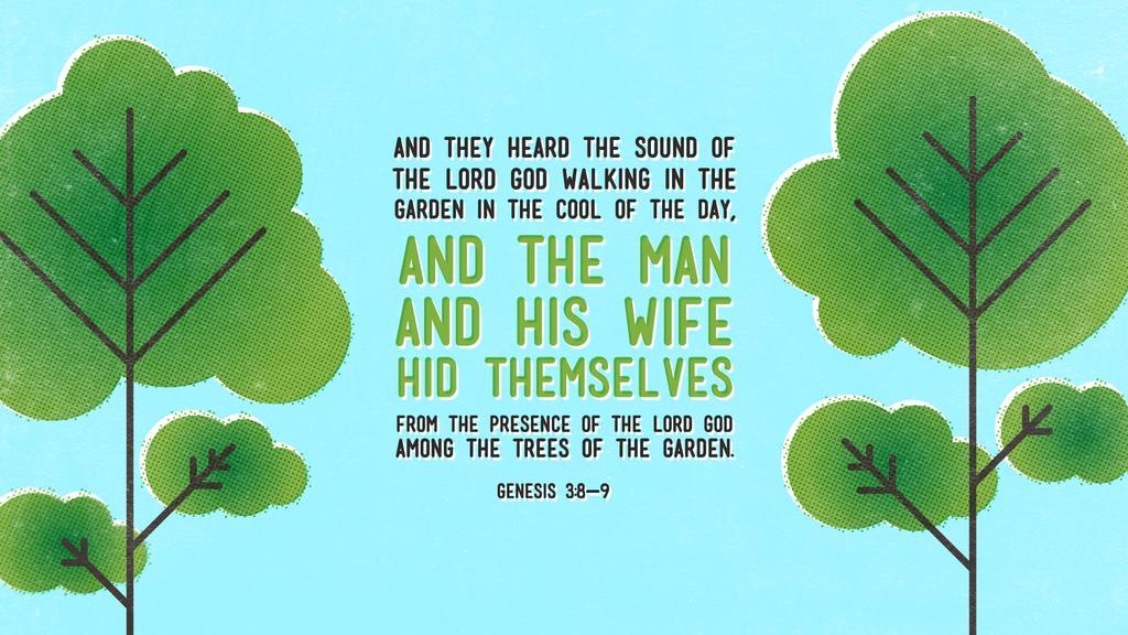 Genesis 3:8–9 large preview