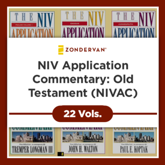NIV Application Commentary: Old Testament, 22 Volumes (NIVAC)