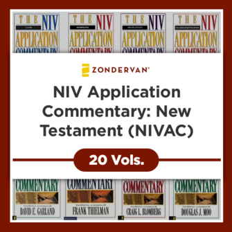 NIV Application Commentary: New Testament (NIVAC) (20 vols)