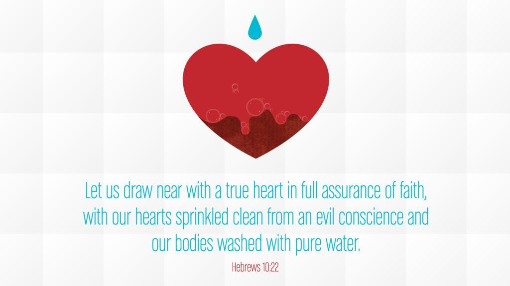 Hebrews 10:22 large preview