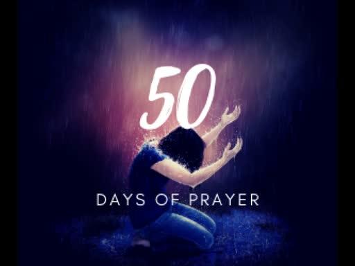 50 Days of Prayer