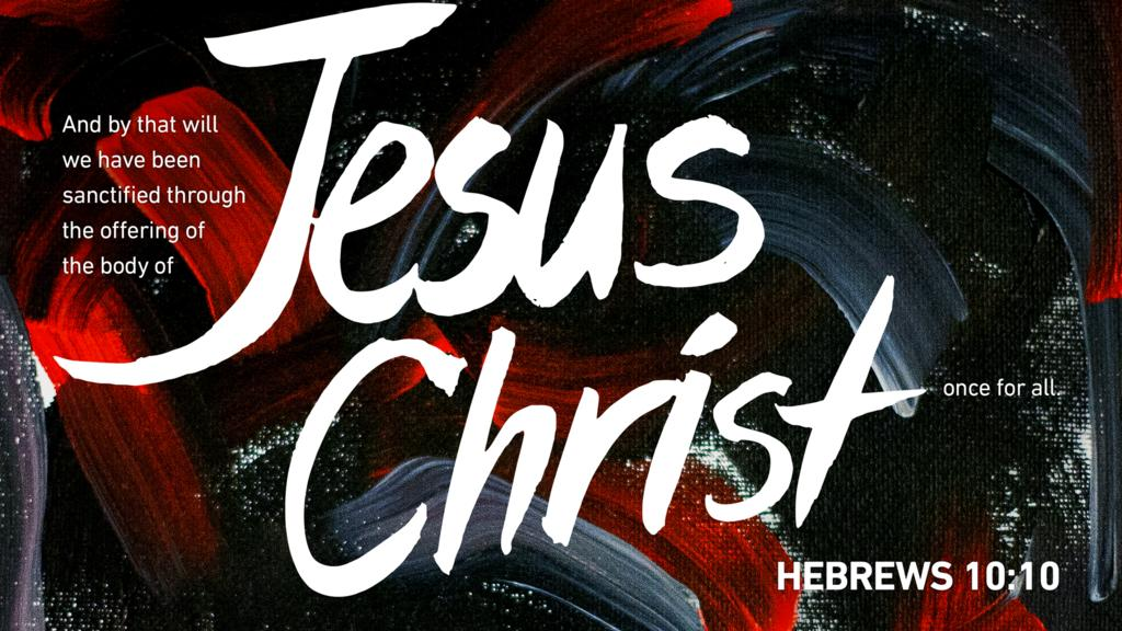 Hebrews 10:10 large preview
