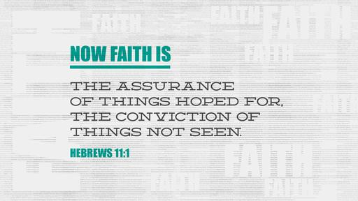 Hebrews 11:1 verse of the day image
