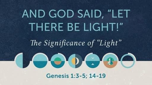 Foundations for Faith - Genesis