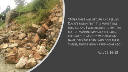 Restoring David's Tabernacle