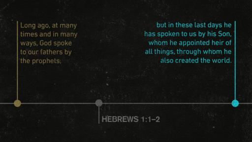 Hebrews 1:1–2 verse of the day image