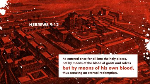 Hebrews 9:12 verse of the day image