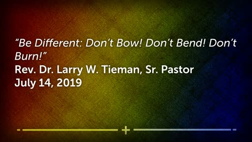 July 14, 2019 - The Fiery Furnace - Be Different: Don't Bow! Don't Bend! Don't Burn!""