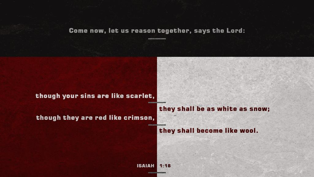 Isaiah 1:18 large preview