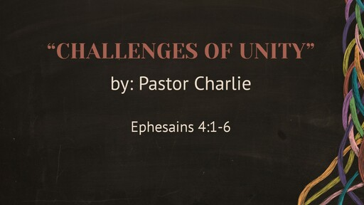 """""""Challenges of Unity"""""""