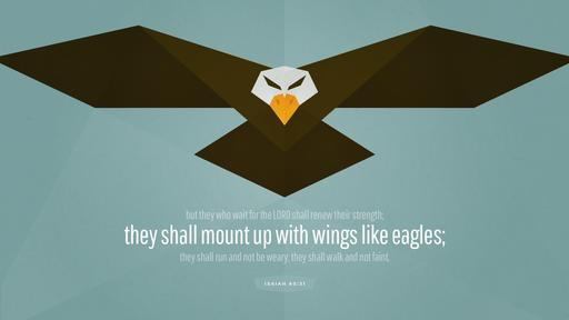 Isaiah 40:31 verse of the day image