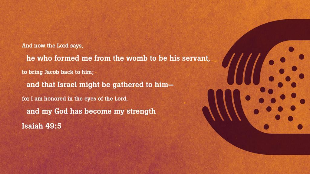 Isaiah 49:5 large preview