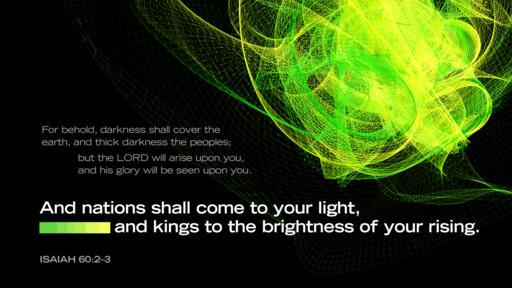 Isaiah 60:2–3 verse of the day image