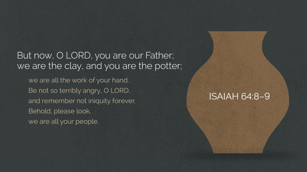 Isaiah 64:8–9 large preview