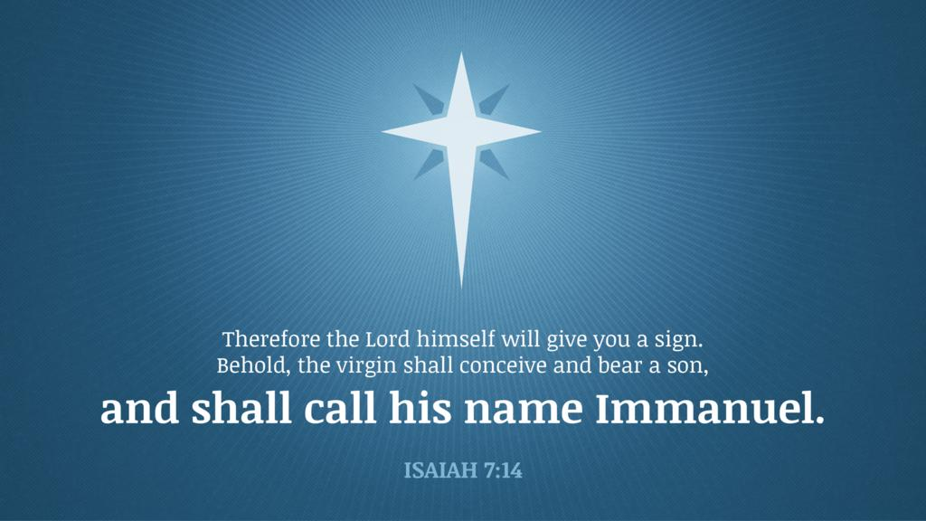 Isaiah 7:14 large preview
