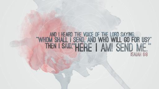 Isaiah 6:8 verse of the day image