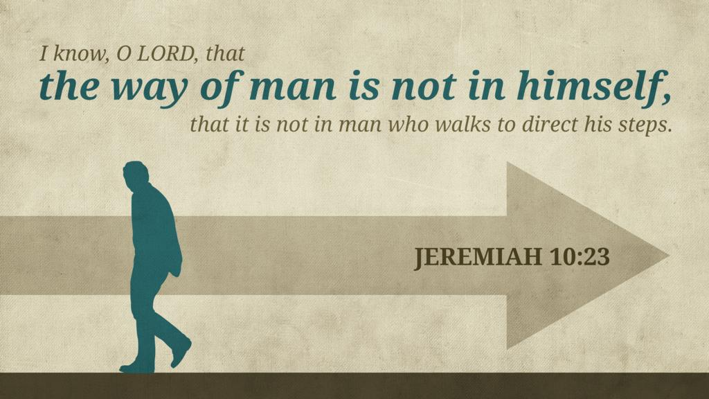 Jeremiah 10:23 large preview