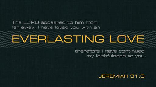 Jeremiah 31:3 verse of the day image